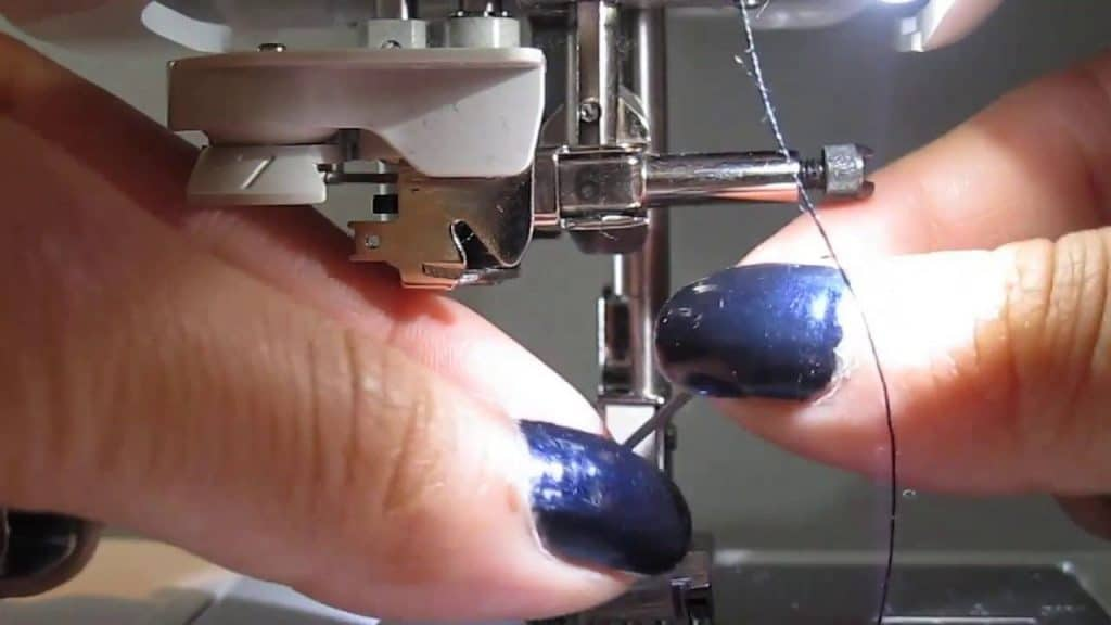 Changing The Needle sewing machine