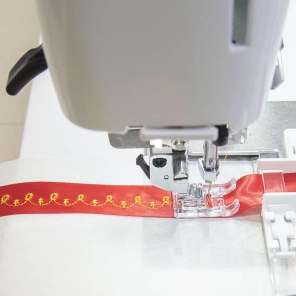 Attaching Ribbon Trims