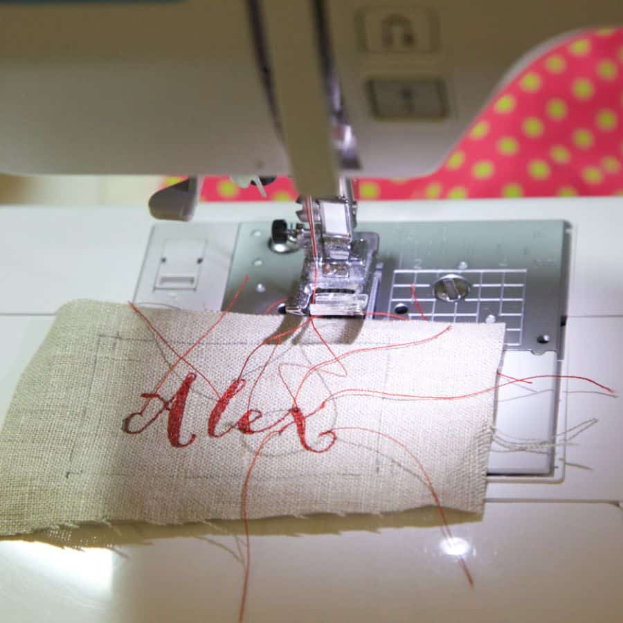 What's The Best Way To Embroider Letters